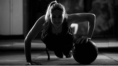Fitness Sports Wallpapers Gym Woman Desktop Working