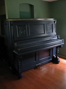 navy blue painted piano | For the Home | Piano room decor ...