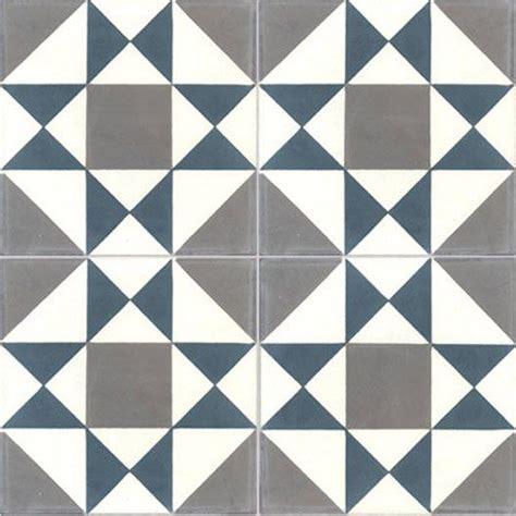 carreau de ciment int 233 rieur grenelle premium bleu et gris fonc 233 20 x 20 cm deco