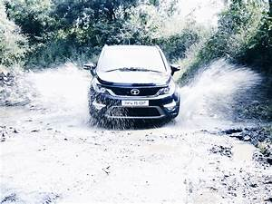 A Visit To Eka Nishita Going Through The Flooded Road With Ease Tata New Suv