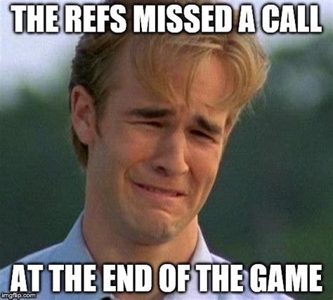 Call Meme - vikings fans crying about one missed call when they couldn t score a touchdown to save their
