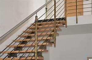 Stahltreppe Mit Holzstufen : stahltreppe mit holzstufen und gel nder metallbau schmidt partner gmbh ~ Orissabook.com Haus und Dekorationen