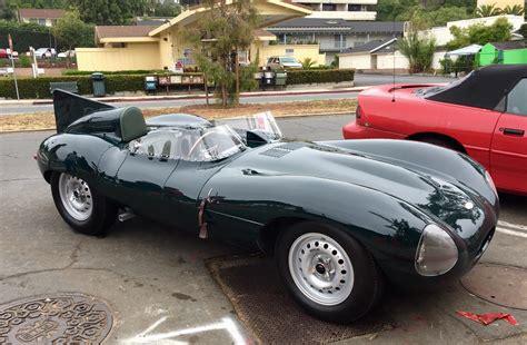 coolest jaguar d type at this mornings santa barbara cars and
