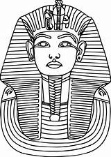 Egyptian Egypt Pharaoh Coloring Ancient Printable Sarcophagus Pharaohs Education Worksheets Math Template Mask Crafts Worksheet Grade Elementary Anubis Culture Sheet sketch template