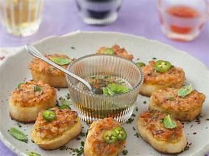 Idée Toast Apéro : toasts vietnamiens aux crevettes recette de toasts ~ Melissatoandfro.com Idées de Décoration