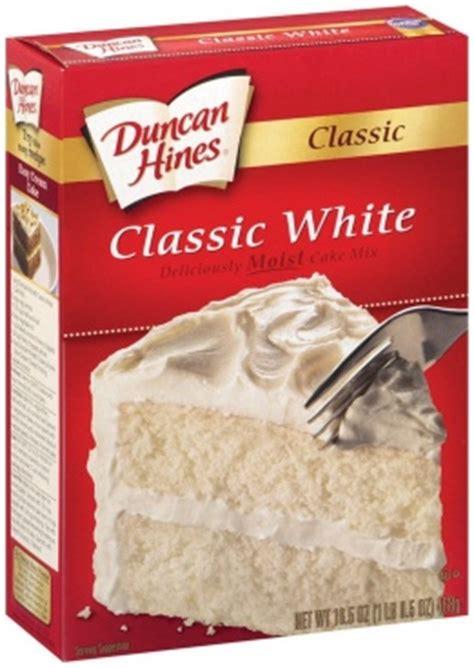 white cake mix duncan hines classic white moist cake mix 432g american 1305