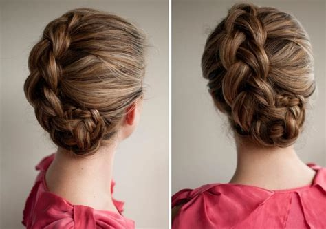 Mix Up Your Look With 10 Braided Updos   Brit   Co