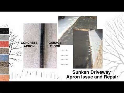 Sunken Driveway Apron Issue and Repair by Asphalt
