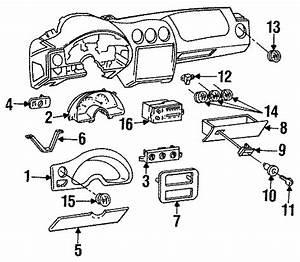Pontiac Firebird Hvac Temperature Control Panel  Rear