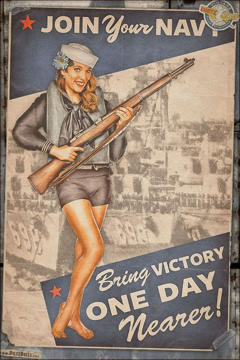 Today's Pinup Is Another From The World War 2 Propaganda