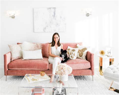 Blush Living Room Decor  Redecorating & Design