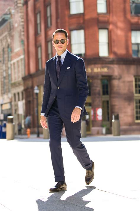 Why Your First Suit Should Be A Navy Suit  He Spoke Style