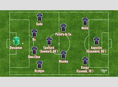 Formation PSGReal Madrid 41, Youth League, les