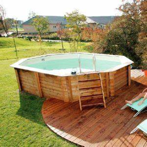 prix piscine semi enterree une alternative tendance With construction piscine hors sol en beton 5 piscine enterree hors sol hors sol bois quel type de