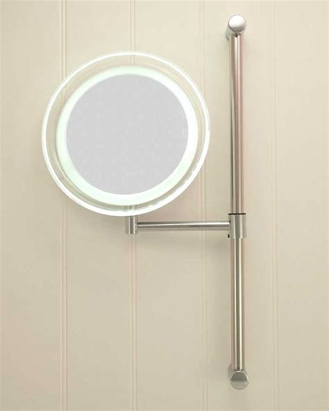 battery powered vanity lights battery operated round led vanity mirror bathroom lights