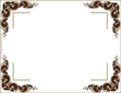 free vintage border templates customize or