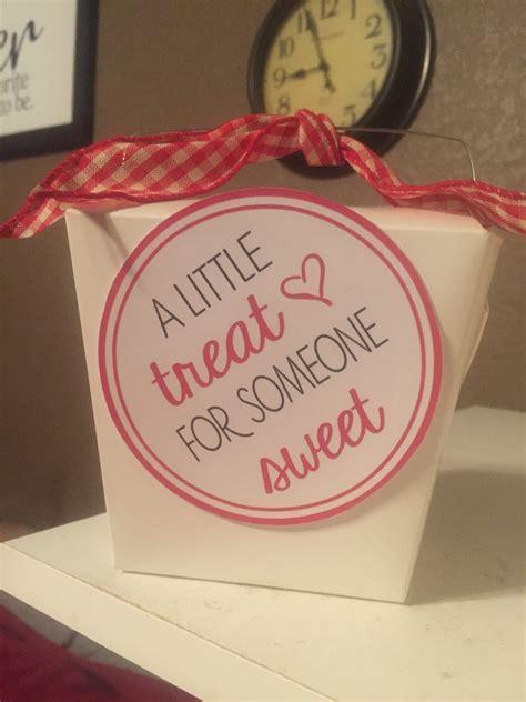 treat   sweet gift tags  idea door