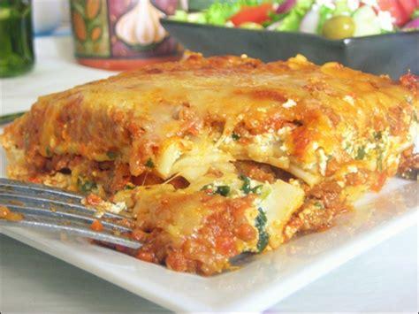 cuisine italienne facile lasagne à la bolognaise recette facile le cuisine