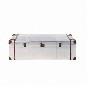 Table Basse Malle : table basse malle en aluminium clout cruse lycee balzac36 ~ Melissatoandfro.com Idées de Décoration