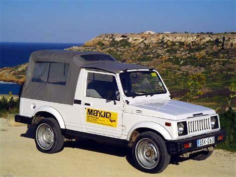 maruti jeep select a car mayjo car rentals