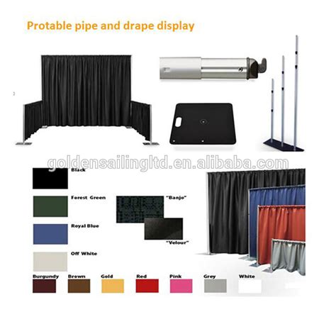 Where To Buy Pipe And Drape - used protable pipe and drape for wedding pipe and