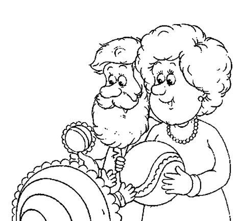 Kleurplaat Opa En Oma Met Baby by Opa En Oma Kleurplaten Met Baby