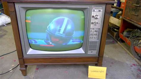 nos  packard bell color television  youtube