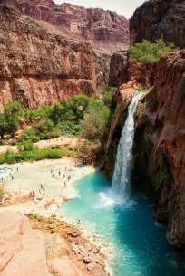 Havasu Falls Havasupai Arizona