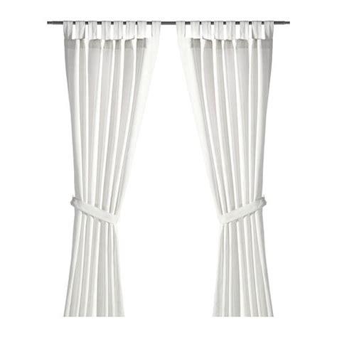 Ikea Lenda Curtains Shrinkage lenda curtains with tie backs 1 pair ikea