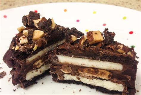 redditor creates oreo nutella pretzel truffle and almond sandwiches