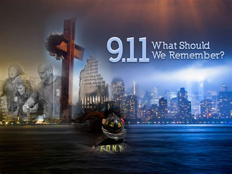 911 What Should We Remember Sermon Title Graphic Portfolio