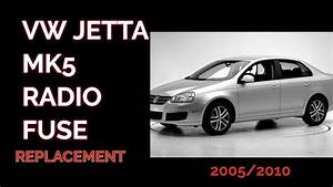 How To Remove  Replace The Radio Fuse In A 2007 Vw Jetta