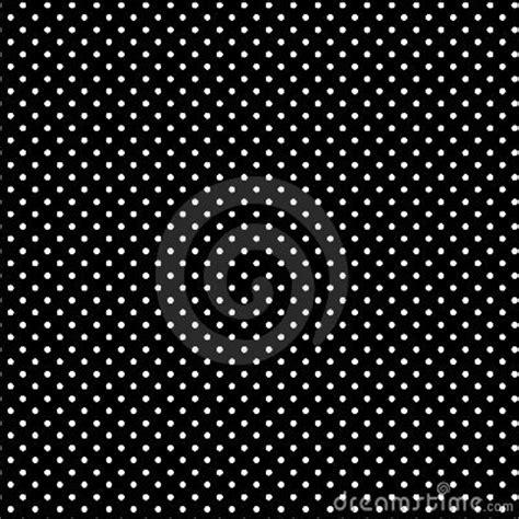 small white polkadots black background stock