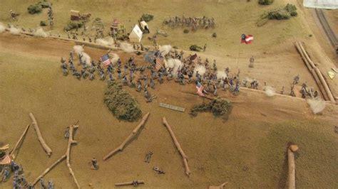 vicksburg battleground diorama  texas lunette photo
