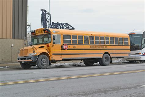 illinois central school bus  mbernero flickr
