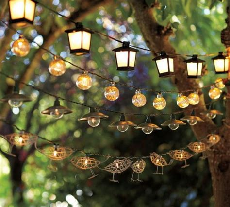 Decorative String Lights For Patio by 9 Enchanting Outdoor Lighting Ideas For Your Home