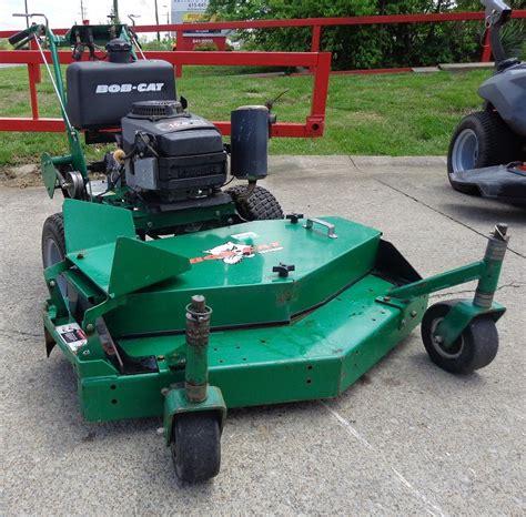 Kawasaki Lawn Equipment by Used 48 Quot Bob Cat 15 Hp Kawasaki Engine Pro Gear Drive Walk