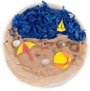 craft paper plate crafts summer crafts 471 | collage beach