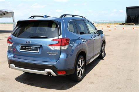 subaru forester  boxer hybrid launched   singapore