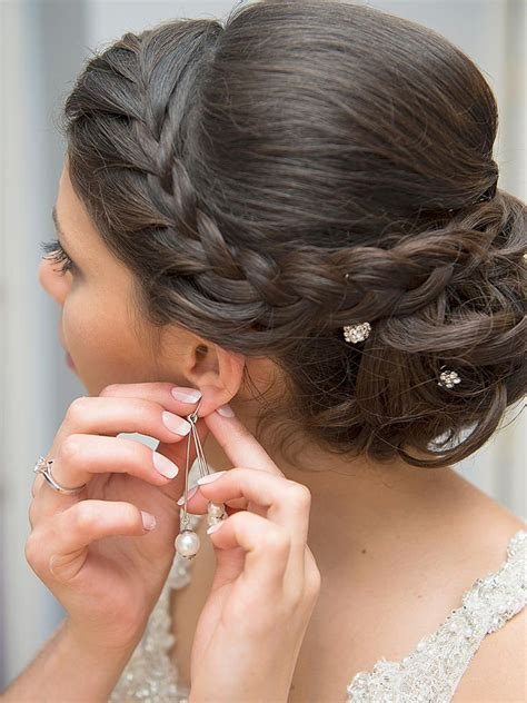 braided updos  long hair wedding hairstyles