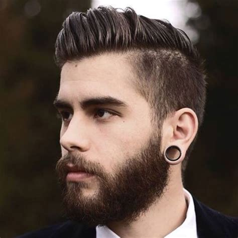 Top 10 Short Hairstyles For Men With Beard Men Health