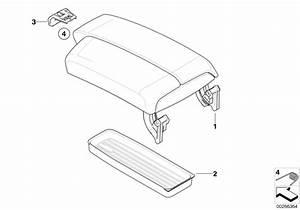 Bmw Genuine Centre Armrest Storage Insert Tray 3 Series E90  91  92  93 51167118064