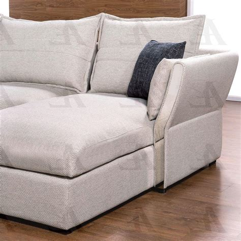 Gray Tufted Loveseat by Gray Fabric Tufted Sofa Chaise And Chair Set Rhc 3pcs
