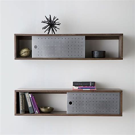 Hanging Drawers On Wall by Slide Wall Mounted Shelf Wall Mounted Shelves Mounted