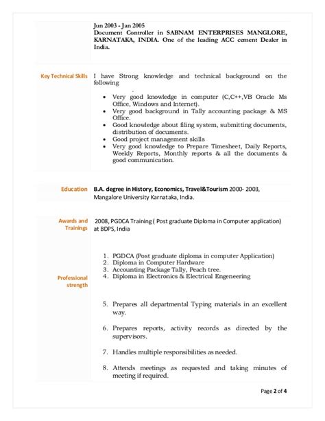 Senior Environmental Scientist Resume by Wael Cv Lead Document U0026 Quality Assurance Officer Cv S Atif Masroor Document