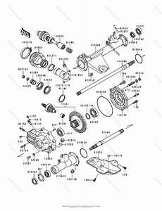 Kawasaki Atv 1991 Oem Parts Diagram For Drive Shaft