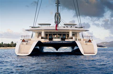 Largest Catamaran Yacht by Six Days Aboard Hemisphere The World S Largest Luxury