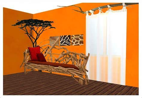 canapé style africain déco africaine pour la maison