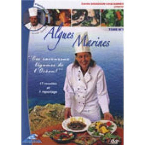 cuisine aux algues dvd cours de cuisine aux algues