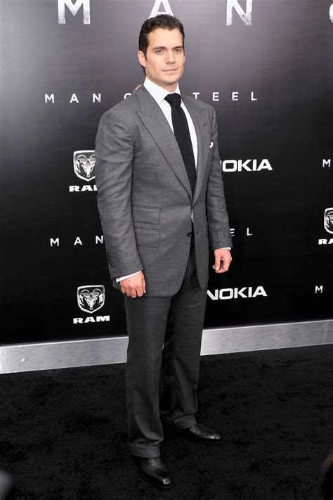 More Pics of Henry Cavill Men's Suit (1 of 5)   Henry